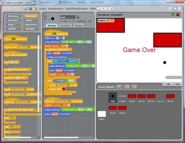 Games in Scratch