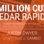 1 Million Cups: Cedar Rapids with Justin Dwyer, project lead at Cambio on October 27, 2021