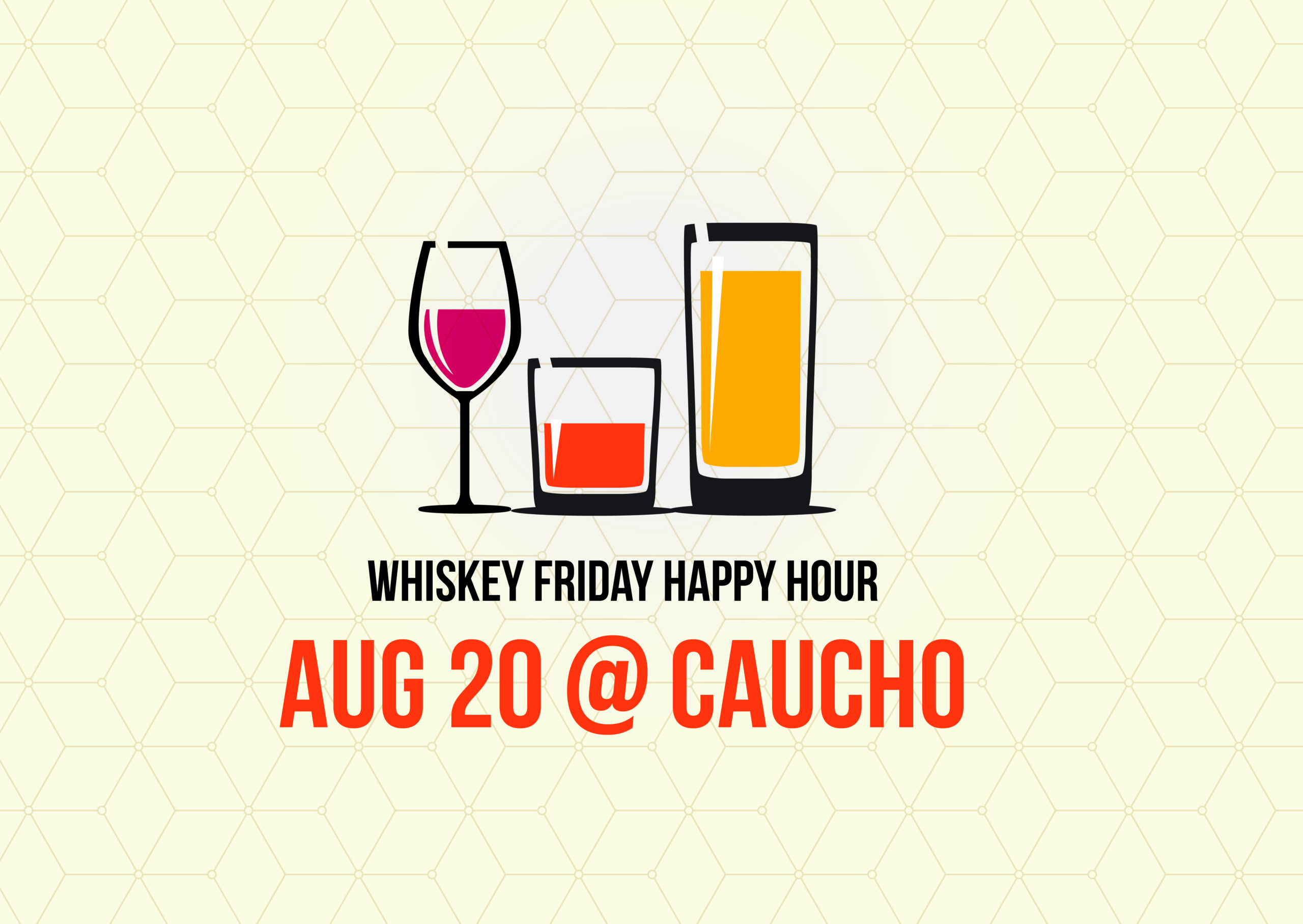 Whiskey Friday at Caucho on August 20, 2021