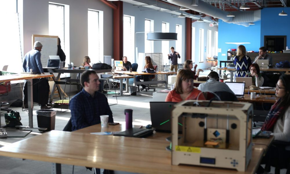 The tight-knit community of Vault members abuzz with conversation and collaboration